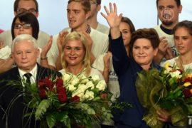 На выборах в Польше побеждает партия Качиньского