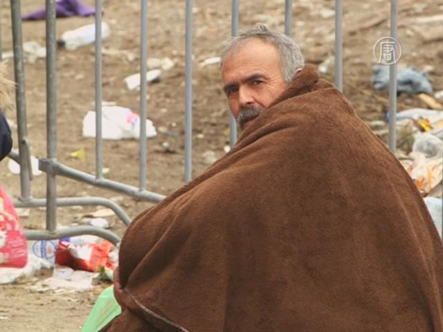 ООН предупреждает об опасности зимы для беженцев