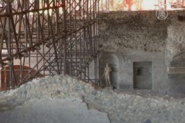 Дом смерти Октавиана восстанавливают из пепла