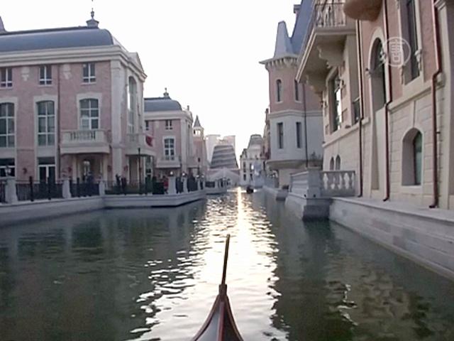 В Китае построили собственную Венецию