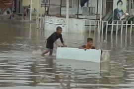 Ливни затопили Багдад