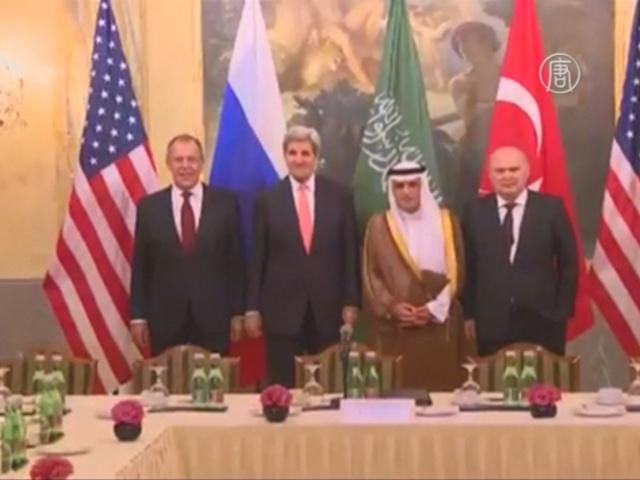 Встреча по Сирии проходит в Вене