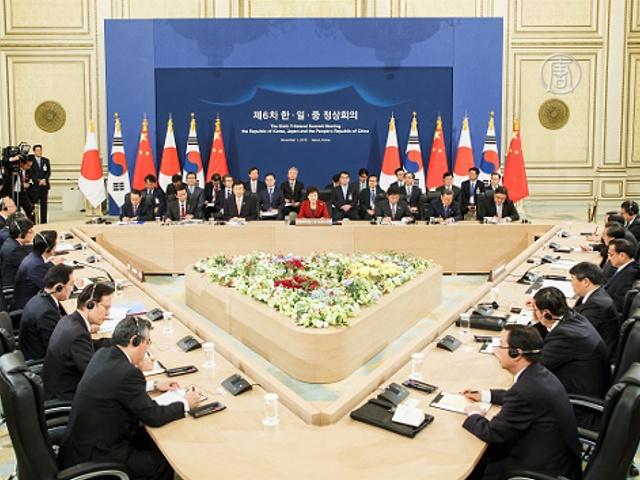 Сеул, Токио и Пекин: первая встреча за 3 года