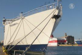 В портах Греции – 48-часовая забастовка
