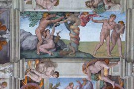 Фрески Сикстинской капеллы хорошо сохраняются