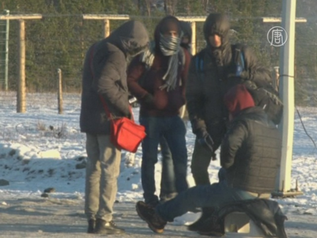 Мигранты бегут в Европу через север России