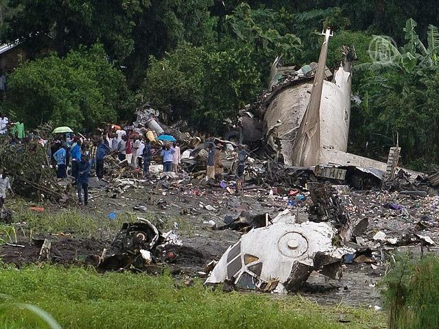 В Африке разбился самолёт с российским экипажем