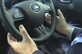 Тест-драйв беспилотного Nissan прошёл в Токио