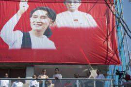 Оппозиция Мьянмы празднует победу на выборах