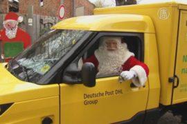 Немецкий Санта-Клаус получает первые письма