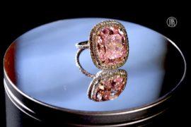 Розовый бриллиант продали за 28,5 млн долларов