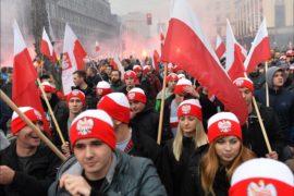 Марш независимости в Польше прошел мирно