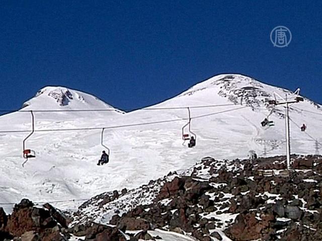 Ледники Эльбруса тают