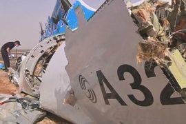 ФСБ России: крушение А321 произошло из-за бомбы