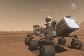 Марсоход Curiosity начал активно изучать дюны