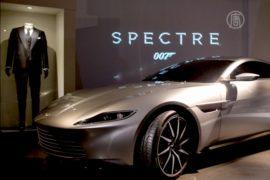 Новый Aston Martin агента 007 показывают в Лондоне