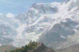 Ледник Монте-Роза в Альпах исчезает на глазах