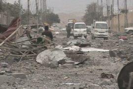 Синджар в руинах после освобождения от ИГИЛ