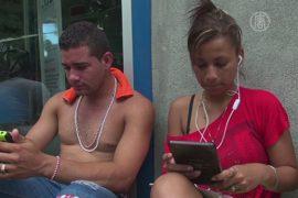 Кубинским мигрантам помогают технологии