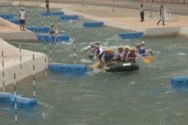 В Рио испытывают олимпийскую трассу для гребли