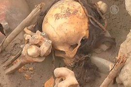 В Перу раскапывают уникальные гробницы инков