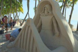 Флорида: международный конкурс песчаных фигур