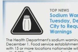 В фастфудах будут предупреждать о количестве соли