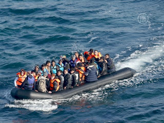 ООН: поток беженцев резко сократился из-за погоды