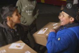 Немцы готовят подарки беженцам