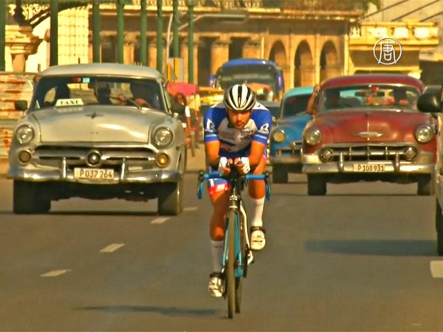 Австриец-велосипедист пересечёт Кубу за 2 дня