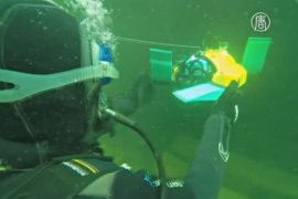 Робота-черепаху готовят к подводным исследованиям