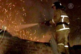 Пожар в интернате под Воронежем расследуют