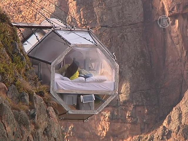 Перу: стеклянные «люксы» на отвесной скале