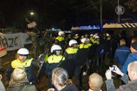 Нидерланды: протест против размещения беженцев