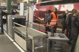 На вокзале в Париже установили металлодетекторы
