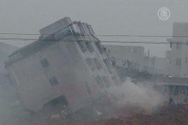 Оползень в Китае: около 100 пропавших без вести