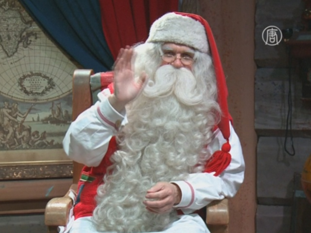 Санта поддержал детей, живущих в трудностях
