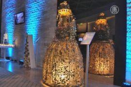 Аукцион дизайнерских ёлок поможет румынским детям