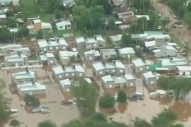 Наводнение в Аргентине: тысячи эвакуированных