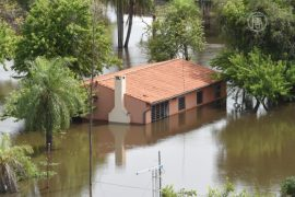 В Аргентине введен режим ЧП из-за наводнения