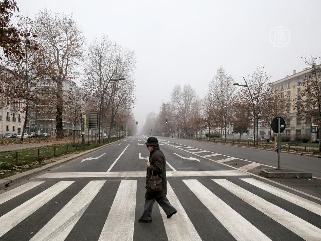 В Милане на 3 дня запретили движение частных авто