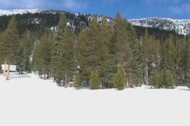 Снег в Калифорнии дал надежду на окончание засухи