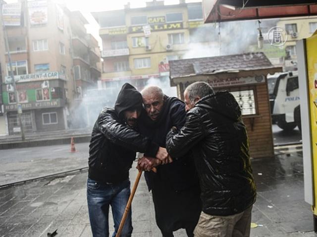 Мирные жители страдают из-за боёв в Турции