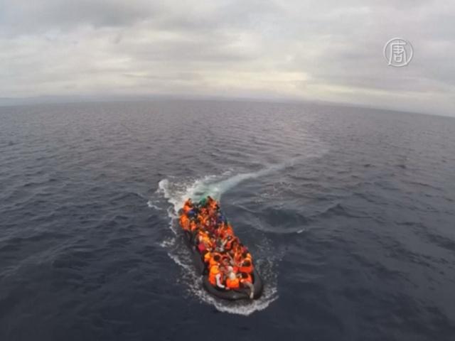 В Европу по морю прибыло более миллиона мигрантов