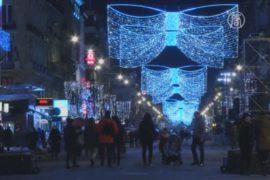 Новогодние фейерверки отменили в Брюсселе и Париже