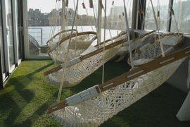 Монреаль: плавучий спа-салон на бывшем судне