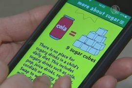 Смартфон поможет есть меньше сахара