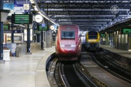 Бельгийские железнодорожники объявили забастовку