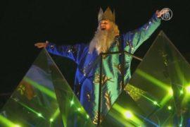 Красочный парад в Испании в День трёх королей