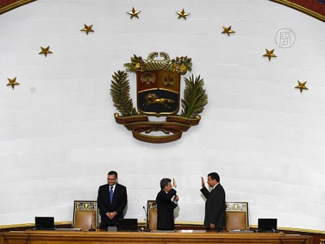 Венесуэла: скандал в парламенте нового созыва